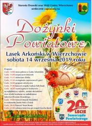 2019-09-14 Dożynki Powiatowe - Wierzchowo