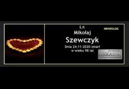 Ś.P. Mikołaj Szewczyk