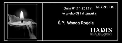 Ś.P. Wanda Rogala