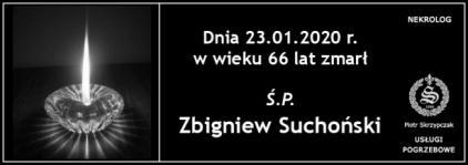 Ś.P. Zbigniew Suchoński