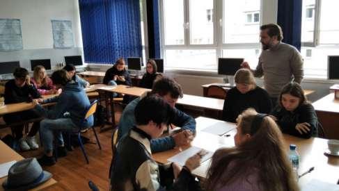 Poza schematami - warsztaty literackie w Zespole Szkół w Czaplinku