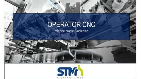 OPERATOR OBRABIAREK CNC w STM Sp. z o.o.