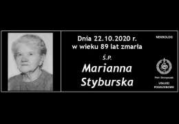 Ś.P. Marianna Styburska