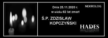 Ś.P.Zdzisław Kopczyński