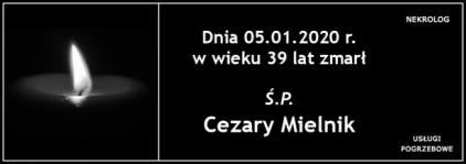 Ś.P. Cezary Mielnik