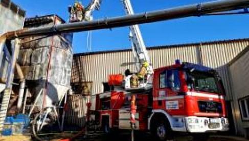 Zarząd KPPD wydał komunikat odnośnie pożaru zakładu w drawsku. Straty są duże