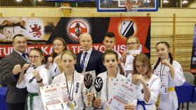 6 medali dla drawskich zawodników podczas Mistrzostw Polski Zachodniej w Karate Kyokushin