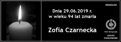 Ś.P. Zofia Czarnecka