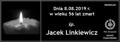 Ś.P. Jacek Linkiewicz