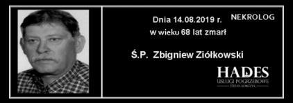 Ś.P. Zbigniew Ziółkowski