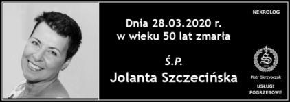 Ś.P. Jolanta Szczecińska