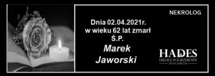Ś.P.Marek Jaworski