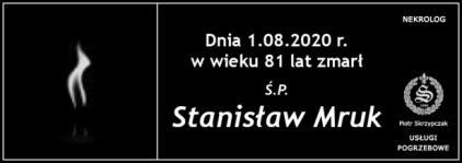 Ś.P. Stanisław Mruk