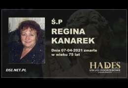 Ś.P. Regina Kanarek