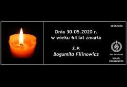 Ś.P. Bogumiła Filinowicz