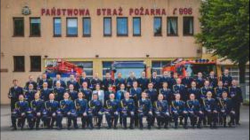 Pamiątkowe zdjęcie Strażaków