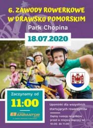 2020-07-18 Zawody rowerowe w Drawsku Pomorskim