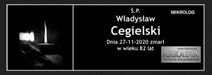 Ś.P. Władysław Cegielski