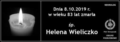 Ś.P. Helena Wieliczko