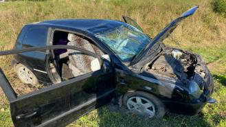 Wypadek na trasie Żabinek-Radomyśl. Niestety znów alkohol. Zdjęcia