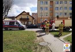 Ratownicy wezwani do otwarcia mieszkania. Niestety w środku odnaleźli ciało kobiety