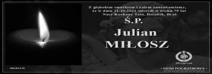 Ś.P. Julian Miłosz