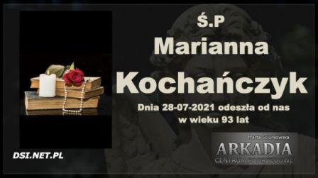 Ś.P. Marianna Kochańczyk
