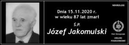 Ś.P. Józef Jakomulski