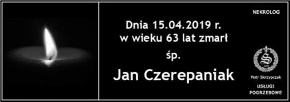 Ś.P. Jan Czerepaniak