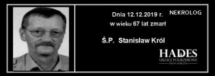 Ś.P. Stanisław Król