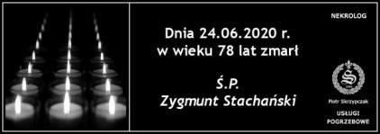 Ś.P. Zygmunt Stachański