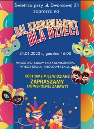 2020-01-31 Bal karnawałowy dla Dzieci