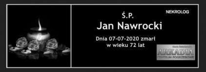 Ś.P. Jan Nawrocki
