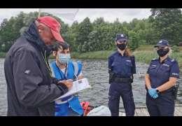 Policja i Sanepid z kontrolą na drawskich kąpieliskach