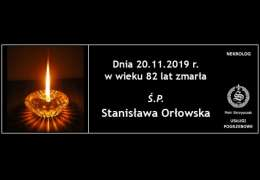 Ś.P. Stanisława Orłowska