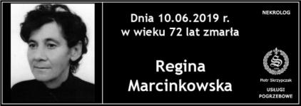 Ś.P. Regina Marcinkowska