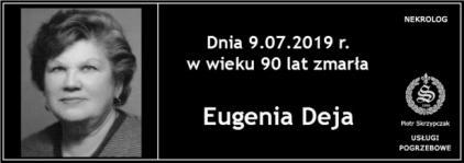Ś.P. Eugenia Deja