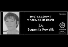 Ś.P Bogumiła Kowalik