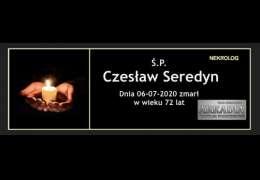 Ś.P. Czesław Seredyn