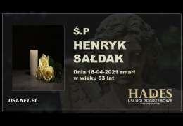 Ś.P. Henryk Sałdak