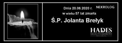 Ś.P. JOLANTA BREŁYK