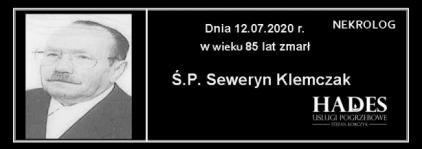 Ś.P. Seweryn Klemczak