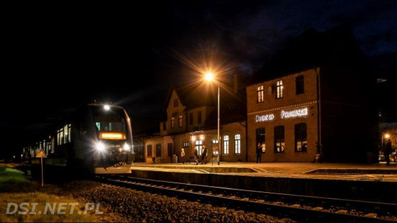 Dworzec Kolejowy w Drawsku Pomorskim - Informacja Turystyczna