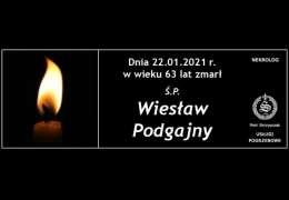 Ś.P. Wiesław Podgajny