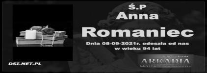 Ś.P. Anna Romaniec