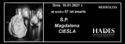 Ś.P. MAGDALENA CIEŚLA