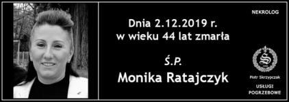 Ś.P. Monika Ratajczyk