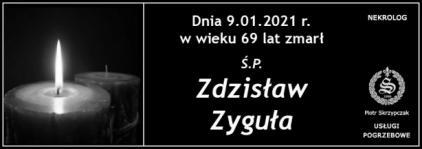 Ś.P. Zdzisław Zyguła