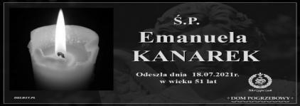 Ś.P. Emanuela Kanarek