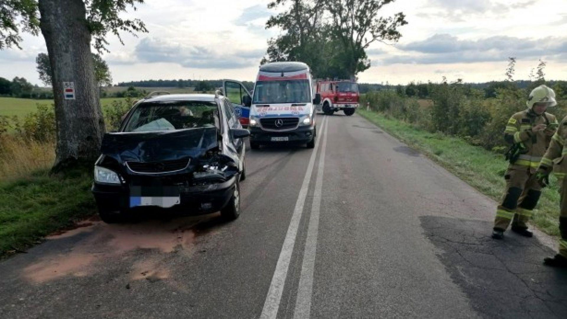 Wypadek w okolicach Kołomątu